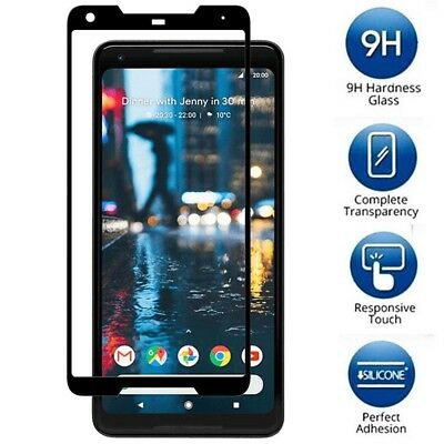 For Google Pixel 2/ 2XL Screen Protector Tempered Glass Protection Full Coverage