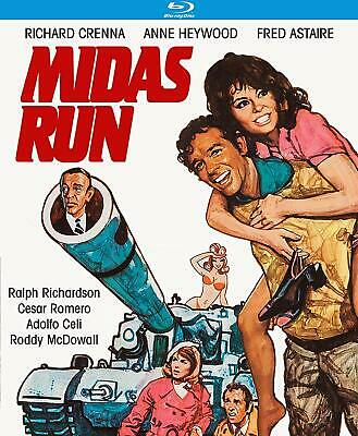 Midas Run BLU-RAY Fred Astaire, Richard Crenna, Anne Heywood