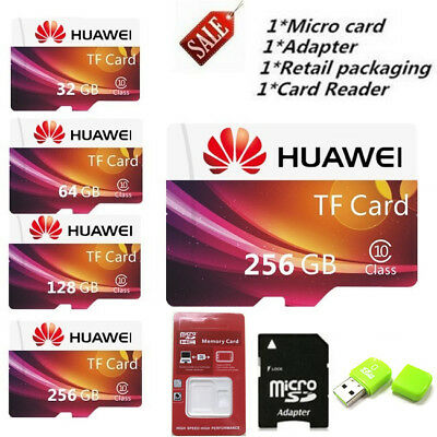 Original TF Card Micro SD Card HUAWEI 8-512GB Class10 Flash Memory Card For MP3!