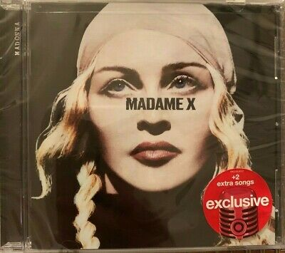 Madonna Madame X Deluxe Target Exclusive CD Medellin With Maluma & Gift Wrap