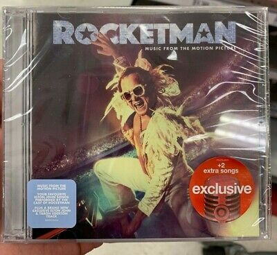 Rocketman Soundtrack Limited Edition Target Deluxe Edition CD Elton John