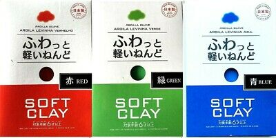 Soft Clay ( red , green , blue )