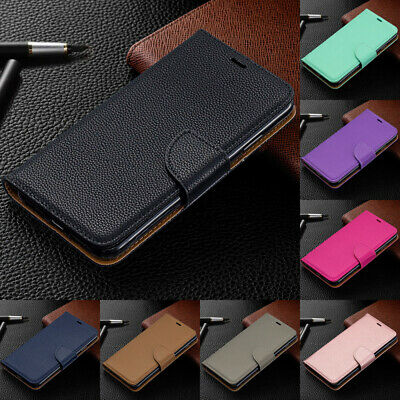 For Huawei P Smart 2019/Honor 10 Lite 8A Premium Leather Wallet Flip Case Cover