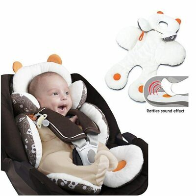 Infant/Toddler Head Body Support Cushions For Car Seats, Joggers Strollers