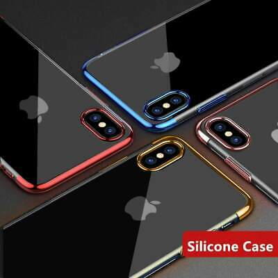 Case for iPhone X Cover New ShockProof Ultrathin Electro Hybrid 360 Silicone