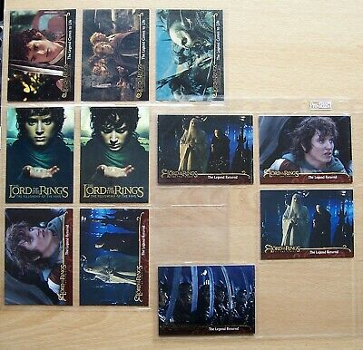 Lord Of The Rings rare promo and foil cards