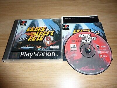Gta Grand Theft Auto Playstation One Ps1 Ps2 Game