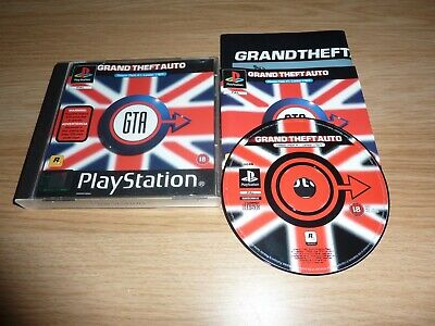 Gta Grand Theft Auto London Playstation One Ps1 Ps2 Game