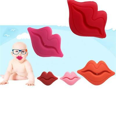 Funny Cute Baby Toddler Infant Silicone Pacifier Dummy Lip Nipple Soother JD