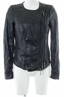 BIBA LEDERJACKE GR. DE 36 Damen Jacke Leather Jacket Weiß
