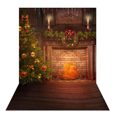 Andoer 1.5 * 2m Photography Background Backdrop Digital Printing Christmas L5L0