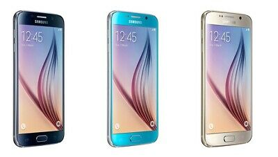 Samsung Galaxy S6 32GB Gold-Blue-Topaz Blue Unlocked Sim Free Android Phone