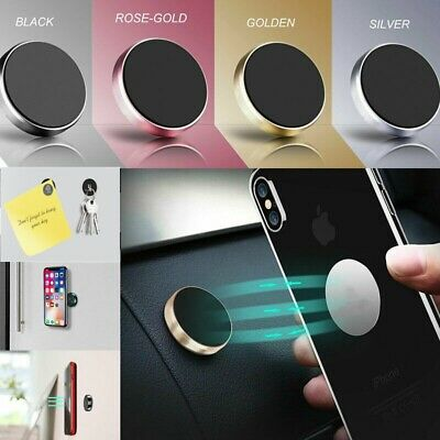 In Car Magnetic Phone Pad Holder Fits Dashboard Universal Mount Various Colours