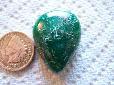Broken Arrow Variscite Cabujón 45 Carat Verde Natural Cab Nevada