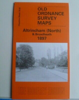 Old Ordnance Survey Maps Altrincham North Broadheath Cheshire 1897 Godfrey Edit