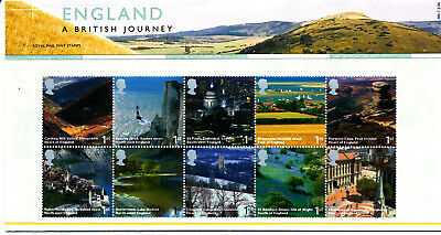 Presentation Pack 380 ENGLAND BRITISH JOURNEY 2006 ROYAL MAIL STAMPS Post Office