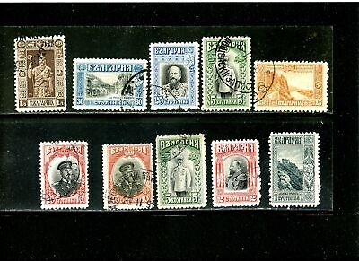 Lot 77826   Used 89 / 98  Bulgaria Stamps From 1911