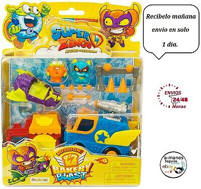 Superzings - Rivals of Kaboom Blíster Mission (Magic Box Int Toys SZS0