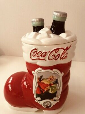 75th Anniversary Coca Cola Collectible Cookie Jar/Canister, Excellent Condition.