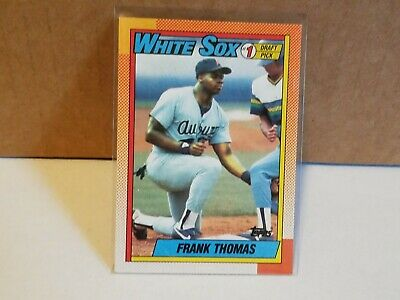Topps 1990 Frank Thomas Topps #414 Baseball Card Excellent condition