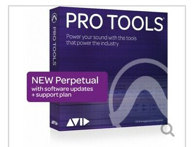 pro tools perpetual lisence new factory sealed brand new in box
