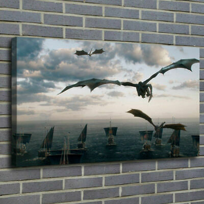 Game of Thrones Painting HD Print on Canvas Home Decor Room Wall Art Picture