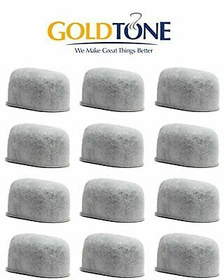 GoldTone Brand Replacement Charcoal Water Filter Cartridges For Keurig Classic