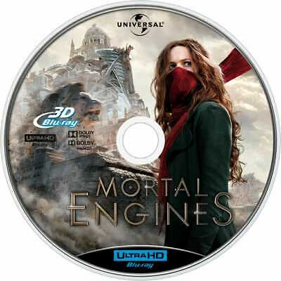Mortal Engines 3D Blu-ray