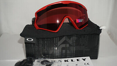 65cd4c119a770 Oakley New Sunglasses Windjacket 2.0 Viper Red Prizm Snow Torch Irid OO9418- 0645