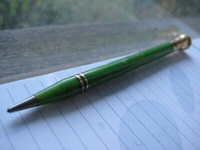 Vintage Wahl Eversharp jade green pencil