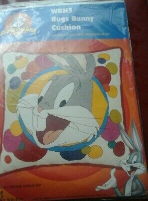 Designer Stitches Looney Tunes Bugs Bunny Cushion OOP