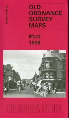 Highly Detailed Ordnance Survey Map Ilford 1938 With Free Uk P&P