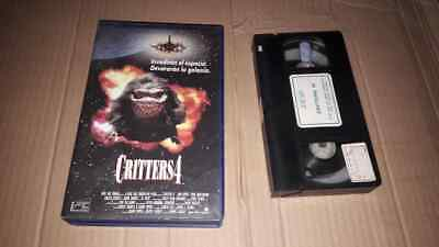 Critters 4 VHS rare 1st edition Horror SciFi Gremlins Munchies