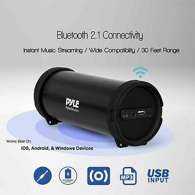 LOUD BLUETOOTH SPEAKER Portable Wireless Boombox Rechargeable Aux Stereo System
