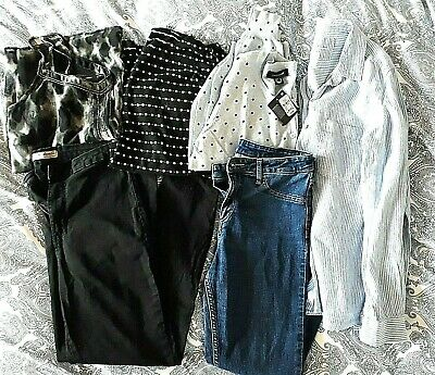Big Bundle New & Nearly New Women's Summer Clothing Next H&M Primark Size 12/14