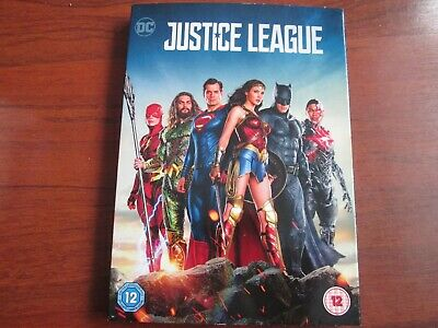 Justice League  [DVD 2018 WITH SLIPCOVER]  NEW AND SEALED REGION 2 UK ISSUE