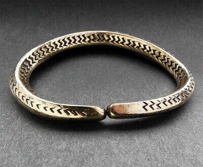 Very rare stunning decorated bronze Viking bracelet Found nr Scarborough.
