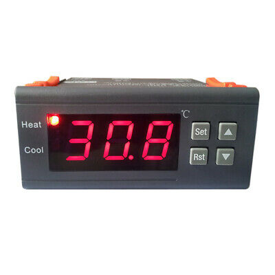 12V Termostato Digitale LCD Display Regolatore Temperatura Con Sonda Mh1210A