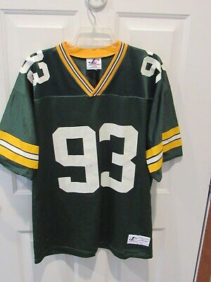 Hot GREEN BAY PACKERS Womens Primary Logo Jersey T Shirt Black LRG NFL  for cheap