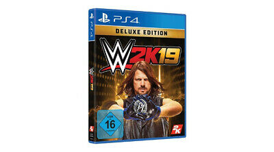 WWE 2K19 - Deluxe Edition (Sony PlayStation 4) ps4