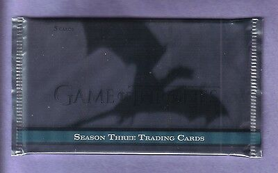 2014 Rittenhouse Game of Thrones Season 3 Trading Card Pack from Sealed Box!