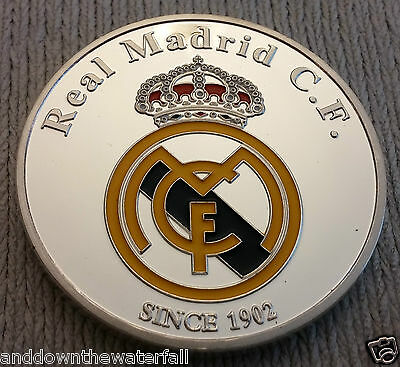 Ronaldo Real Madrid Silver Coin Spain Portugal Man U Free Kick Juventus Italy UK