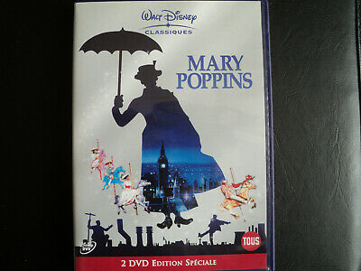 2 Dvd Edition Collector Edition Speciale Walt Disney Mary Poppins Comme Neuf