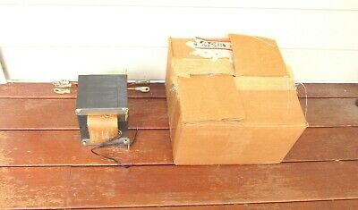 VINTAGE STANCOR MODEL P-8621 RECTIFIER POWER TRANSFORMER w/ BOX