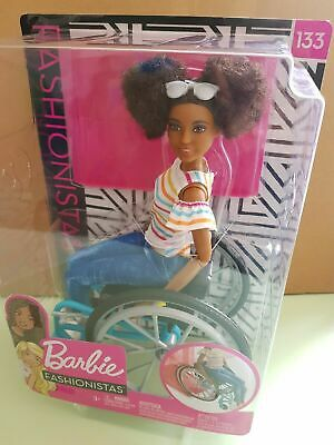 Barbie Fashionistas 133 Wheelchair Playset NEW