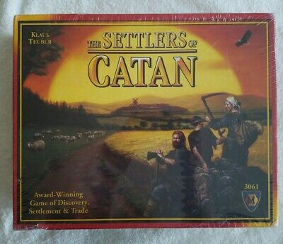 NEW Unopened The Settlers of Catan Board Game #3061 Mayfair Games FREE SHIPPING