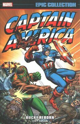 Captain America Epic Collection: Bucky Reborn by Stan Lee (Paperback, 2017)