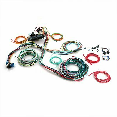15 fuse '12v ' wiring harness 46 1946 ford pickup - truck, panel hot
