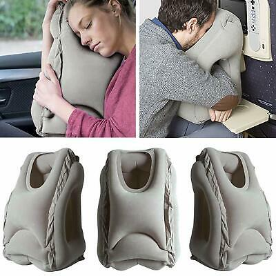 Ostrich Inflatable Travel Pillow Airplane Head Rest Sleeping Flight Train Office