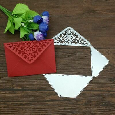 Rectangle Envelope Pocket Metal Cutting Dies DIY Scrapbooking Crafts Embossing